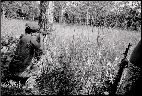 Hunting near Anglon Veng